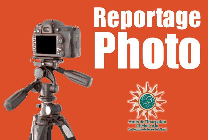 Dhorpatan accueille Lionel et Léa pour leurs reportages photos !